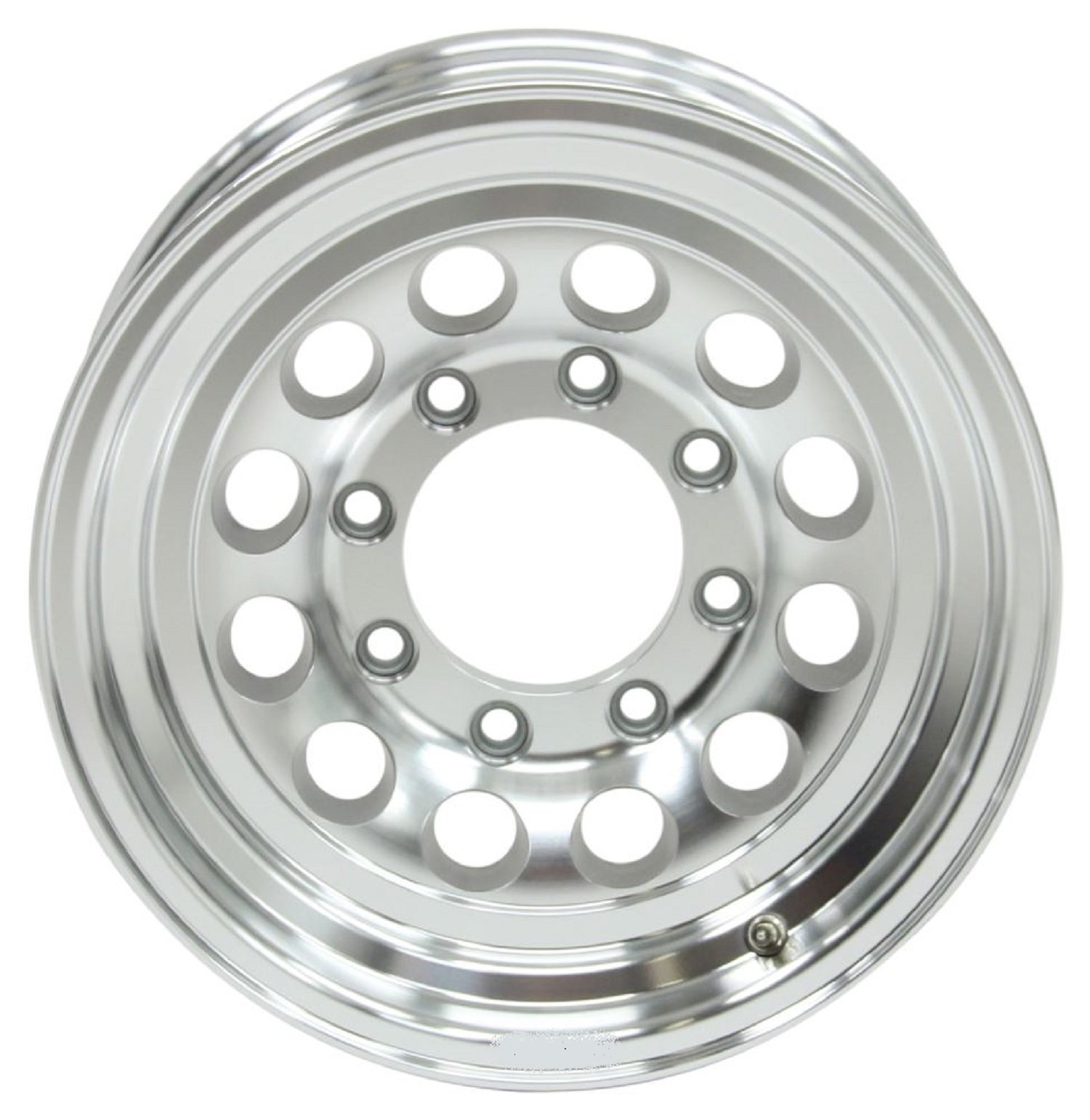 Aluminum Trailer Wheel Rim 16x6.5 Modular (8 Lug On 6.5'') 4.90'' Center Bore