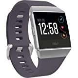 Fitbit Ionic Health & Fitness Smartwatch (GPS) with Heart Rate, Swim Tracking & Music, Blue-Gray/Silver