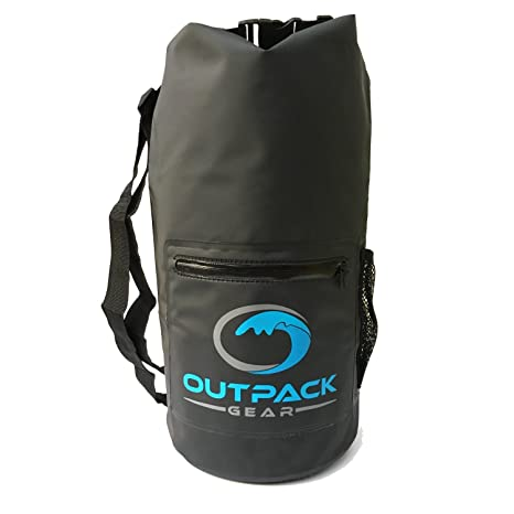 9b1e816233b9 Outpack Gear Waterproof Backpack Sports Bag | Beach Backpack Swim Bag |  Camping Bag Hunting Bag | Lightweight Daypack Hiking Backpack | Kayaking  Dry ...