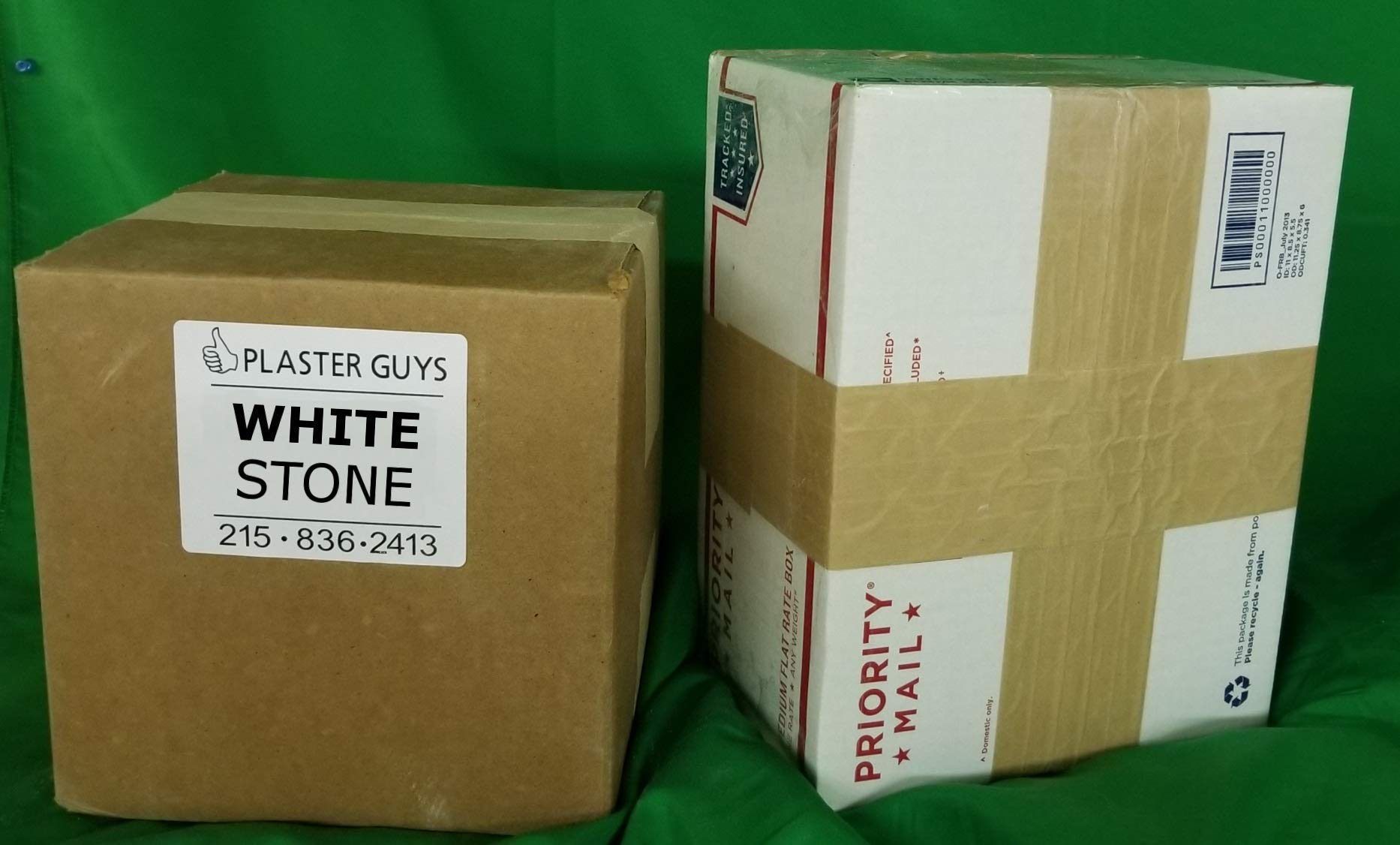 50 pounds - Dental White Lab Stone, Type III Gypsum, Model Stone for Dental Labs and Dentists