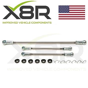 Peugeot 106, Citroën Saxo Gear vinculación Varillas de empuje enlace reparación Fix Kit Inc VTR VTS x8r0055: Amazon.es: Coche y moto