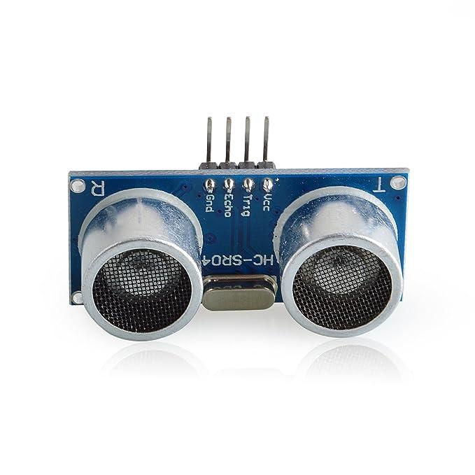 Neuftech 3pcs Módulo ultrasonido HC-SR04 Distancia sensor de medición del transductor para Arduino