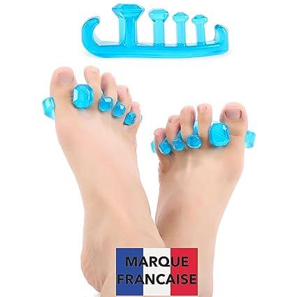 TAKIT Separador Dedos Pie - Tamaño S - Para Yoga - Estiramiento Terapéutico - Relajación