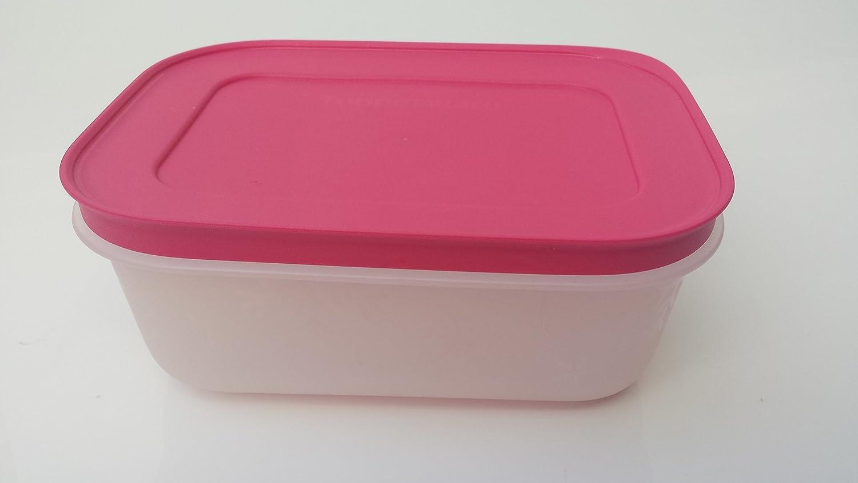 Tupperware Congelación congelar contenedores naranja rosa ...