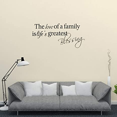 Amazon.com: El amor de una familia es mayor bendición de la ...
