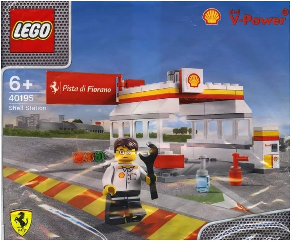 LEGO 2014 The New Shell V-Power Collection Shell Station 40195 Exclusive Sealed