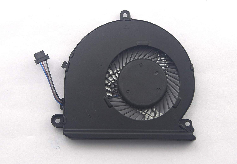 CPU Cooling Fan for HP Pavilion 15-au158nr 15-au159nr 15-au165cl 15-au169tx 15-au171tx 15-au172tx 15-au175tx 15-au183cl 15-au185tx 15-au189tx 15-au193cl 15-au193tx 15-au502tx 15-au503tx 15-au520tx
