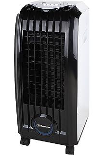 Orbegozo 1 Climatizador evaporativo 3 en 1, acumuladores de frío, depósito de 3.5 l, aletas direccionales, ruedas pivotantes, 3 velocidades, 65 W: Amazon.es: Hogar