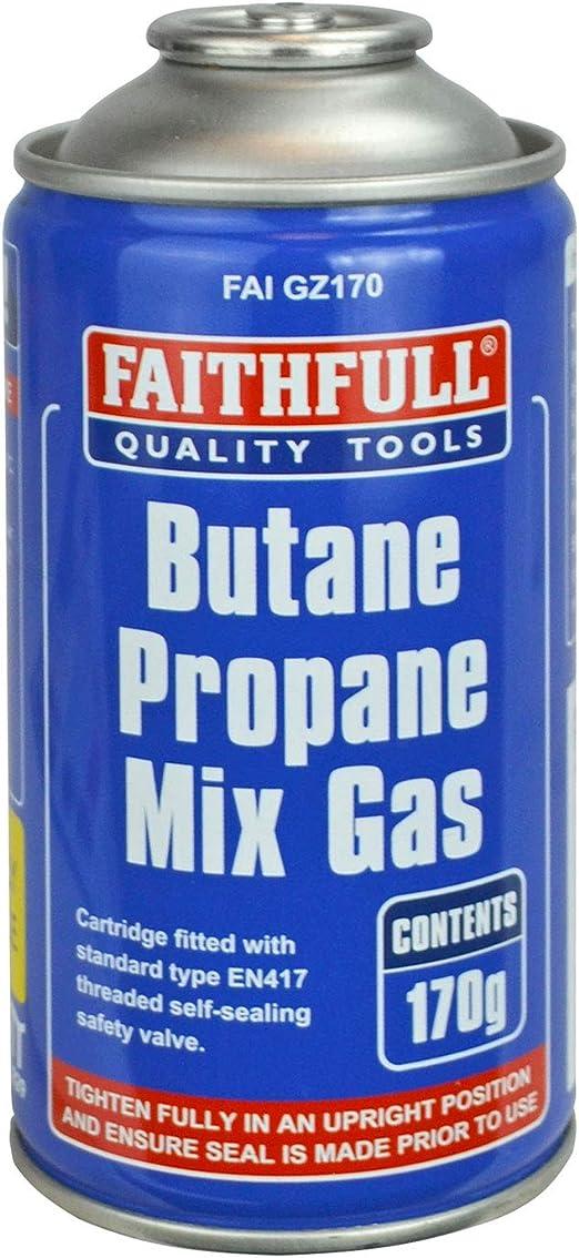 Faithfull GZ170 gaz Convertisseur CGA600 pour EN417 Raccord