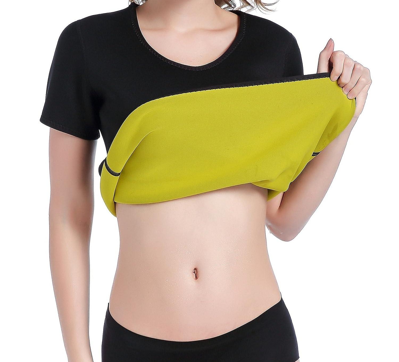 Amazon.com: Stworld Hot Body Shapers - Camiseta de neopreno ...