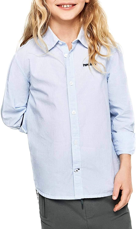 Pepe Jeans- Camisa PB301696 Edward 551 Blue- Camisa NIÑO ...