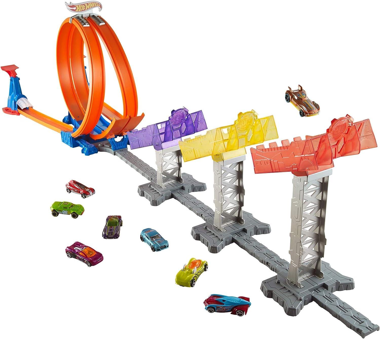 Hot Wheels Pista Super Puntuación: Amazon.es: Juguetes y juegos