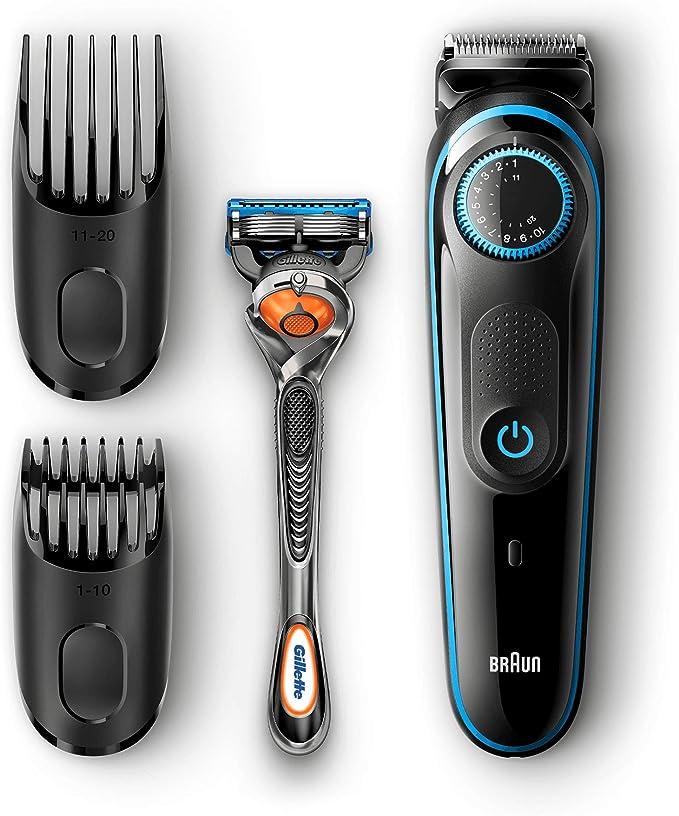 Braun BT5040 - Cortapelos para Barba + 2 Cabezales de Peine + ...