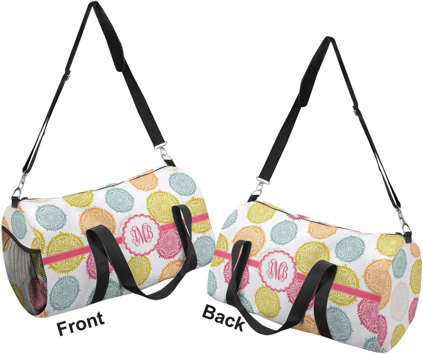 YouCustomizeIt Doily Pattern Duffel Bag Personalized