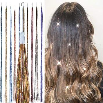 prix bas meilleure qualité pour code de promo Extensions de Cheveux Tinsel, Paillettes - Mélange ...