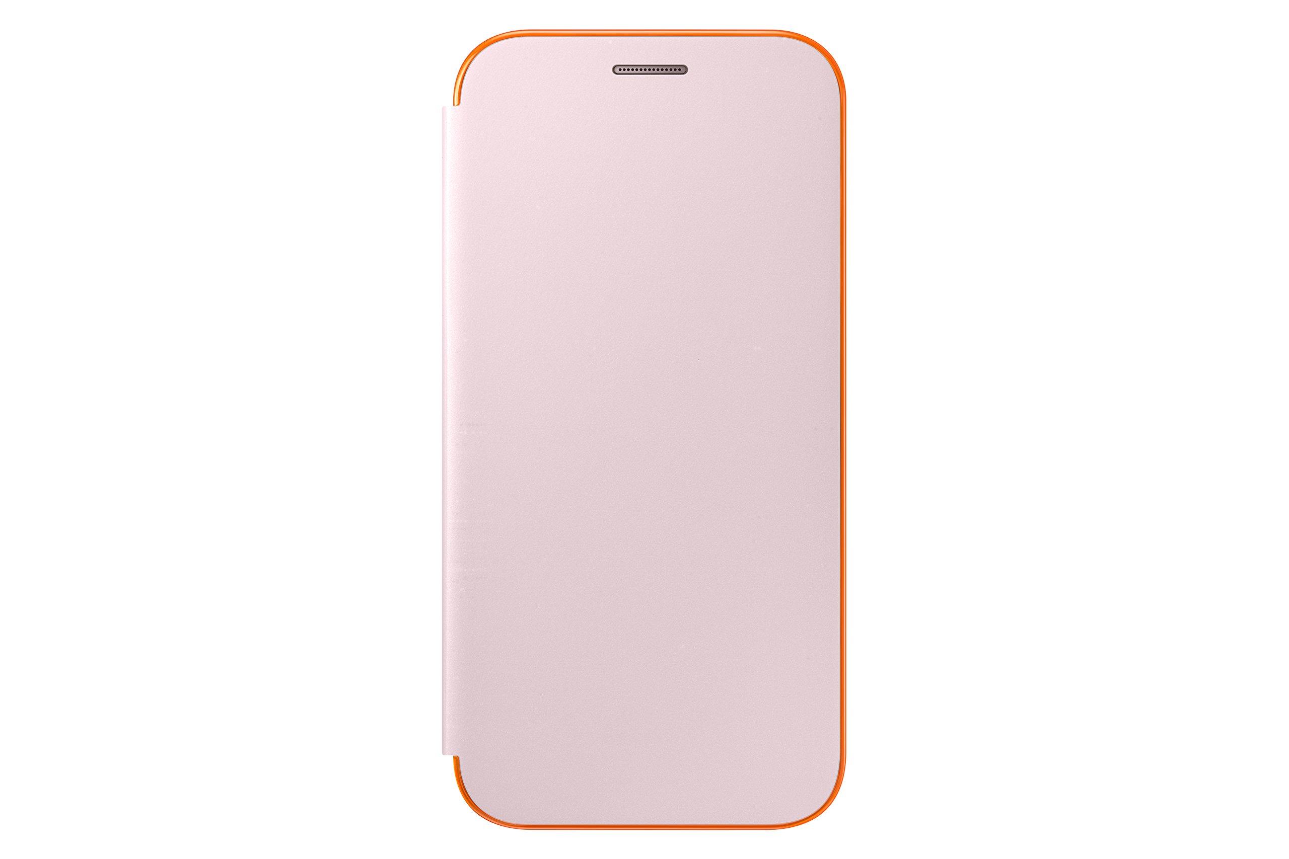 Samsung A5 2017 Neon Flip Cover pink, EF-FA520PPEGWW