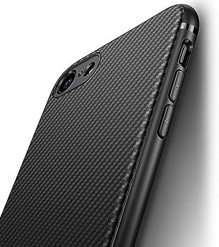 J Jecent Funda iPhone SE 2020 / iPhone 8 / iPhone 7 [Textura Fibra ...