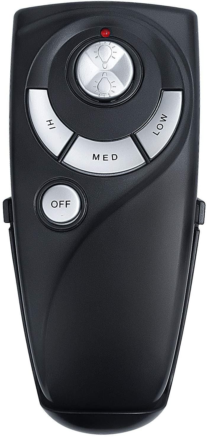 Eogifee UC7083T Ceiling Fan Remote Control Replacement of Hampton Bay with Up and Down Light with Wall Mount Only Remote