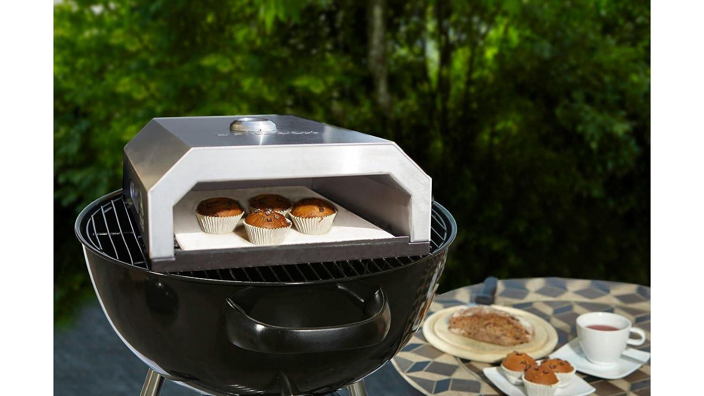 Pizzaofen Für Gasgrill : Buschbeck firebox für gartengrillkamin kugelgrill oder gas grill
