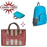 Style Eva Unisex Waterproof Nylon Multicolor Foldable Trekking Backpack