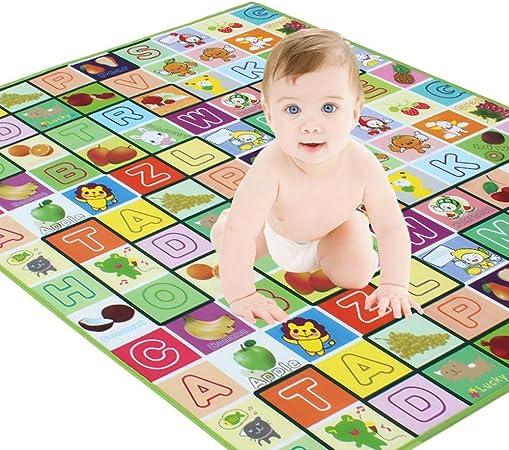 Baby Play Mat Blanket Crawling Kids Floor Activity Soft Carpet Rug Play Mat LC