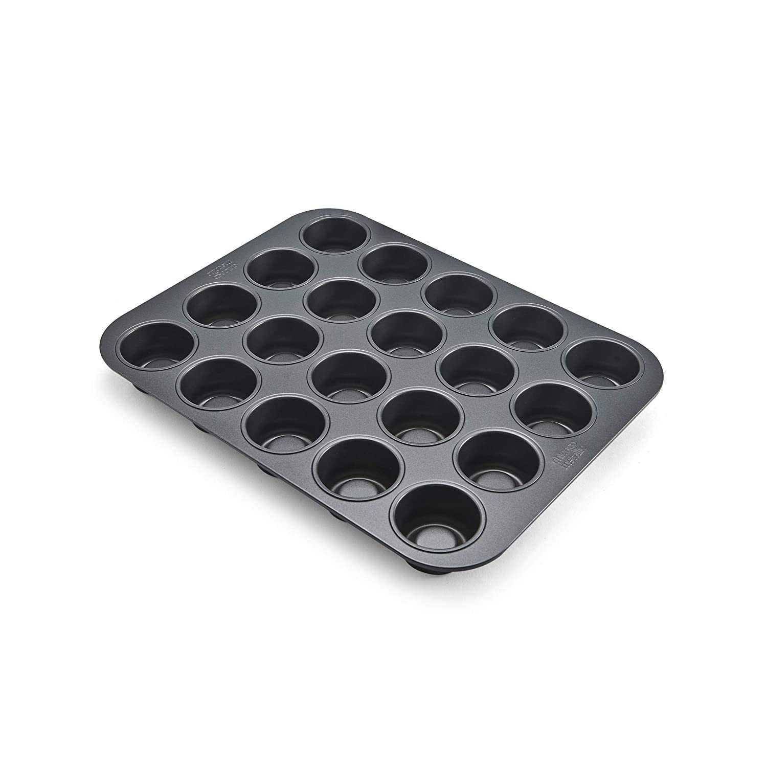 14-Inch-by-10.5-Inch 26636 Chicago Metallic Professional 20-Cup Tea Cake Pan