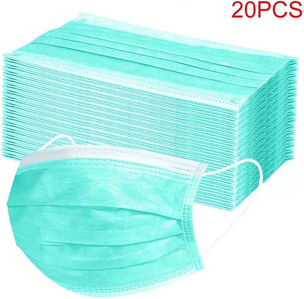 Wtouhe 50PC Algodón Cara Cubierta Protectora Boca Cara Protección De Seguridad Patrón De Impresión Personalizado