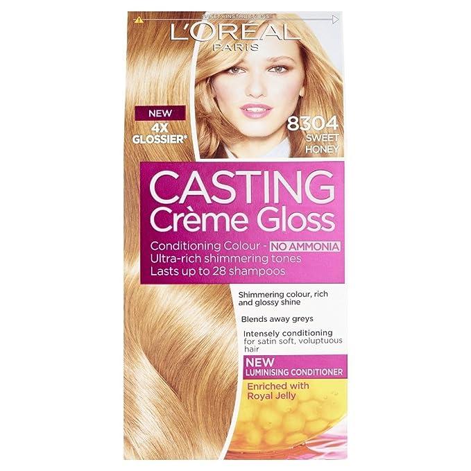 Loral Casting Creme Gloss Semi Permanent Hair Dye 830 Sweet Honey