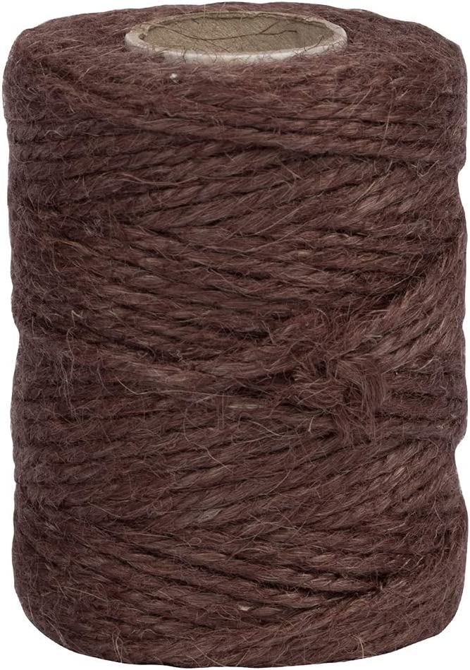 Natural Brown 1//8 x 73 Yards JAM PAPER Kraft Twine Sold Individually