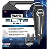Clipper Elite Pro High Performance Haircut Kit for men with Hair Clippers, Secure fit guide combs with stainless steel…