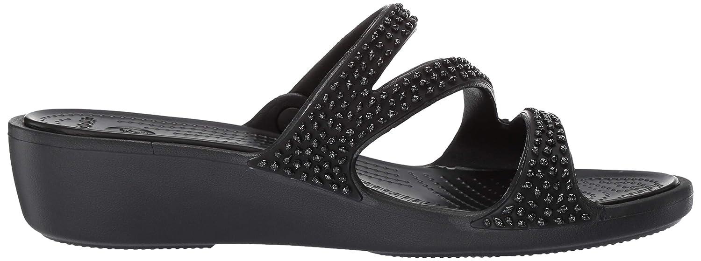 Crocs Womens Patricia Diamante Sandal Slide