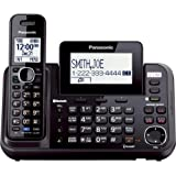 Panasonic 2-Line Cordless Phone System with 1 Handset - Answering Machine, Link2Cell, 3-Way Conference, Call Block, Long…
