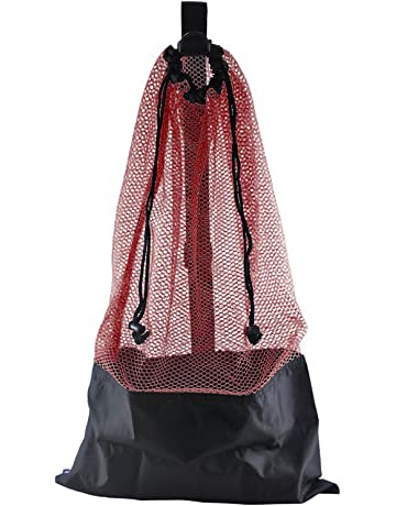 ScubaMax BG-632 Mesh Bag Draw String w/ Shoulder Strap