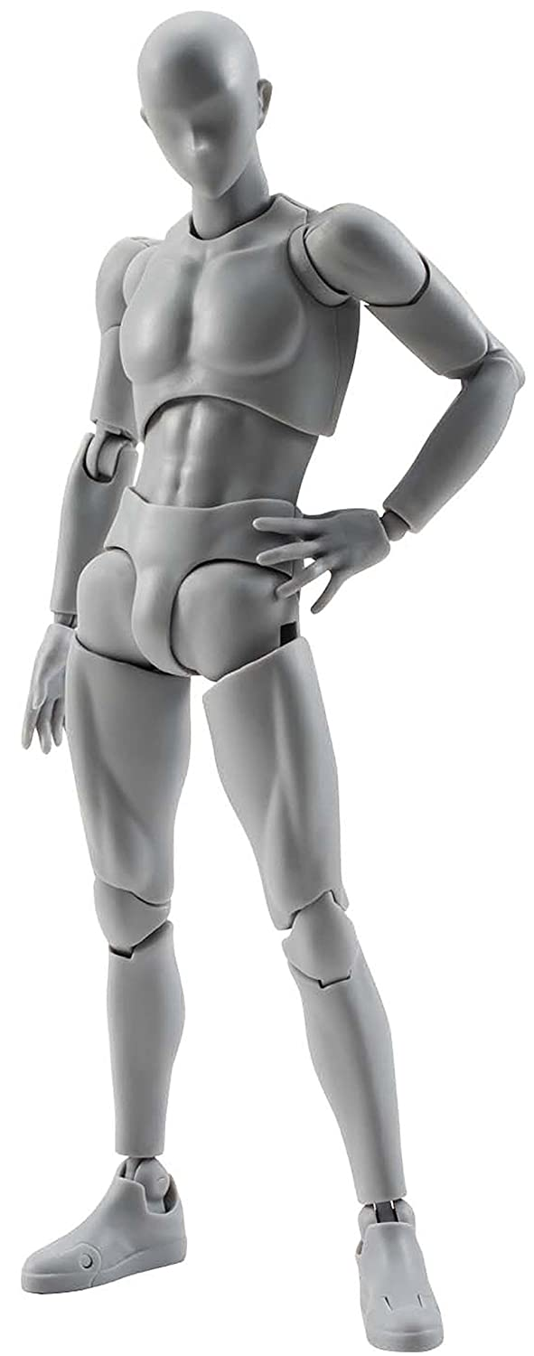 S.H.フィギュアーツ ボディくん DX SET(Gray Color Ver.) 約150mm ABS&PVC製 可動フィギュア