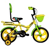 BSA Champ Rock Junior Bicycle, Yellow & Green - (14 Inch)