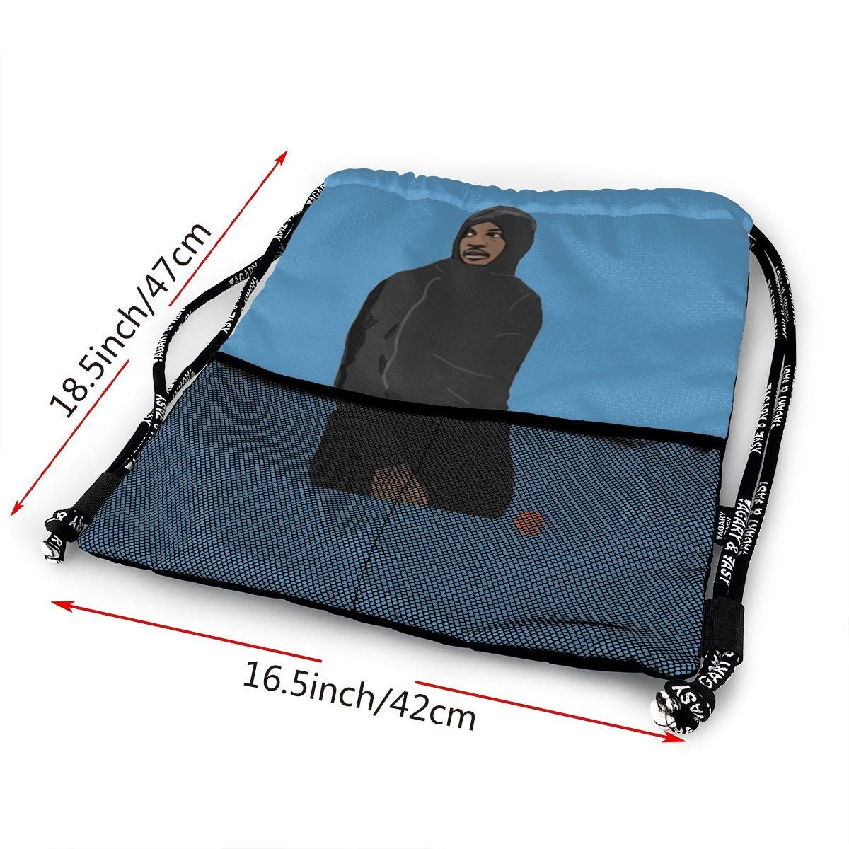 Drawstring Backpack Anthony-Joshua Art Sport Gym Hiking Yoga Travel Beach Bundle Backpack