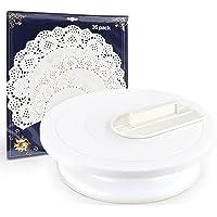 ilauke - Plato para tartas giratorio de plástico