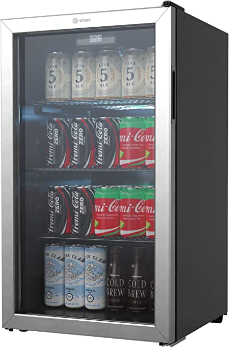 Vremi refrigerador y enfriador de bebidas – 110 a 130 latas mini ...