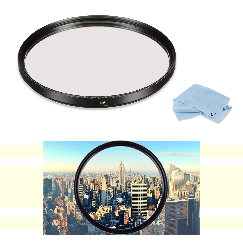高49 mm UV紫外線保護レンズフィルタfor Sony Carl Zeiss Sonnar T E 24 mm f1.8 ZAレンズfor Sony NEXカメラ& Sony E 55 – 210 mm f4 . 5 – 6.3レンズfor SonyEマウントカメラ   B07DQXN235