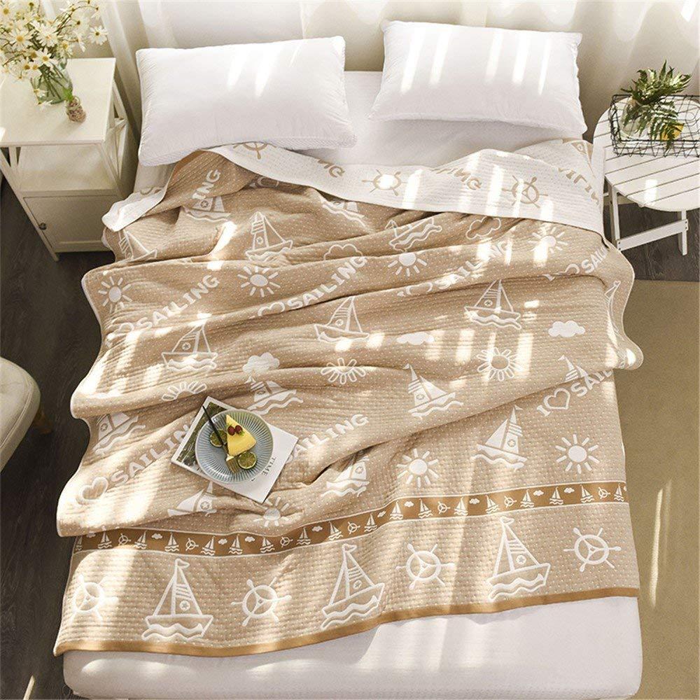 Mabmeiyang コットンクリップコットンのリネン、タオルは107%コットンシングルツイン毛布毛布毛布タオル毛布 (サイズ : 180cmx220cm) B07S4BGFFW  180cmx220cm
