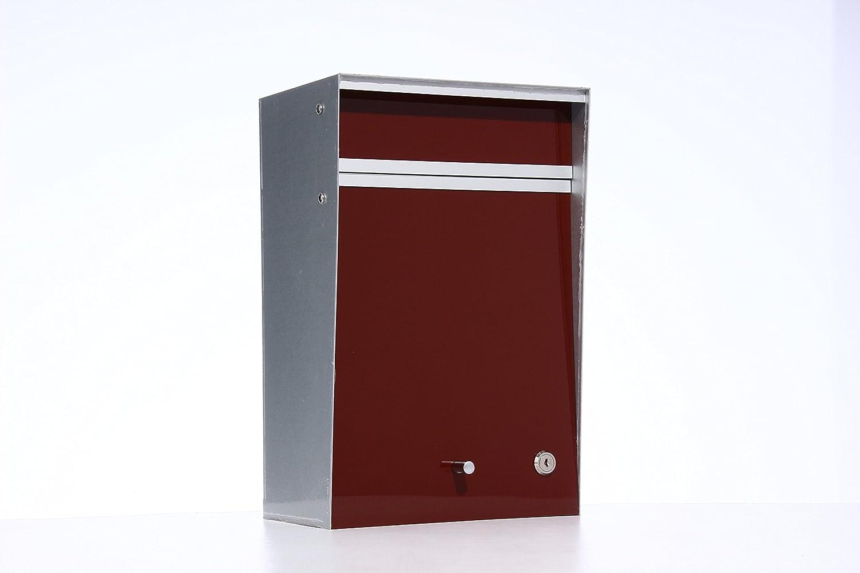 Box Design ポスト 郵便受け Wall Mounted  Brown B00W6HW4TU 28080 Brown Brown