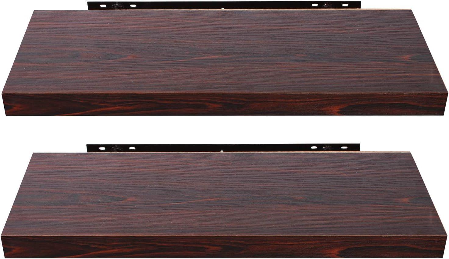 40cm Long EUGAD Pack of 2 Floating Shelvestm