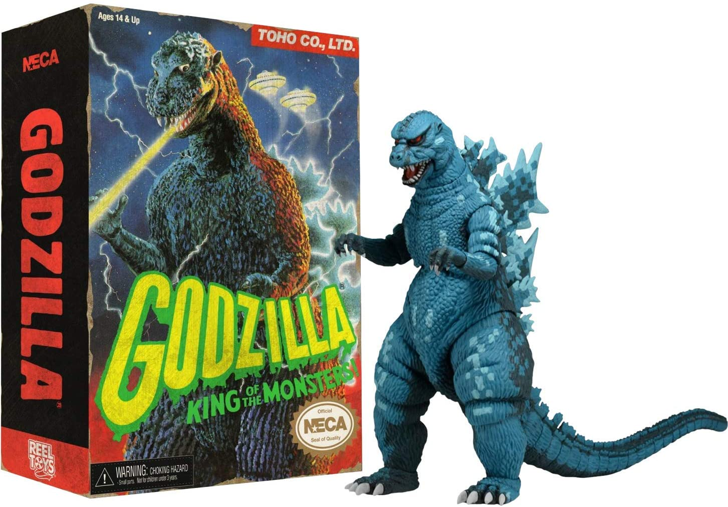 """NECA Video Game Appearance Godzilla Head to Tail Action Figure, 12"""""""