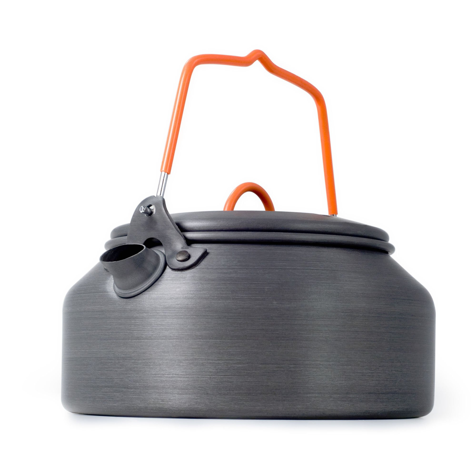 GSI Outdoors - Halulite Tea Kettle, 1 Quart, Superior Backcountry Cookware Since 1985