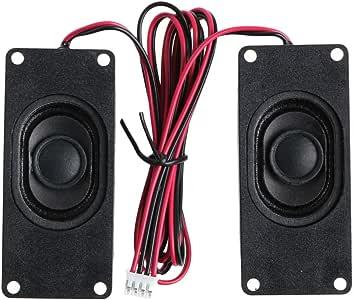 Xuniu 2 Piezas 3070 Publicidad Televisores LCD Altavoces Altavoz ...