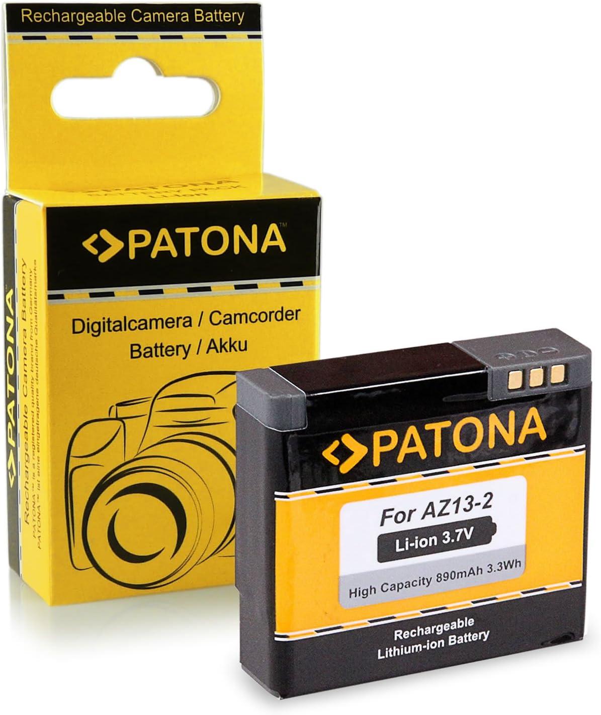 PATONA Bateria AZ13-2 Compatible con Xiaomi Yi Xiaoyi YDXJO1XY, de Calidad Probada y fiable