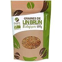 Graines de Lin Brun BIO - 500g (Linum usitatissimum)