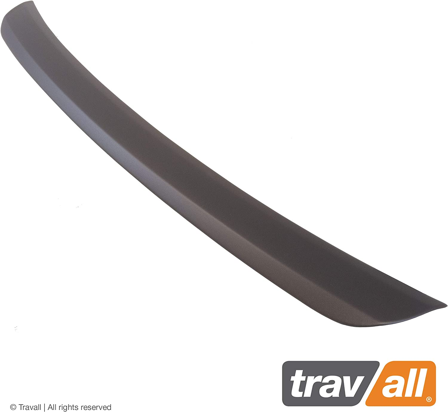 Smooth Travall Protector TBP1065P Vehicle-Specific Black Plastic Moulded Rear Bumper Protector