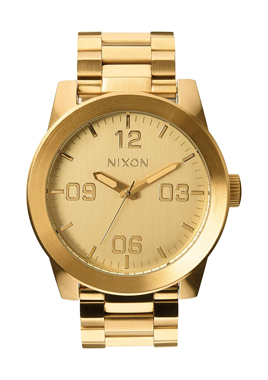 Nixon Corporal SS -Spring 2017- All Gold