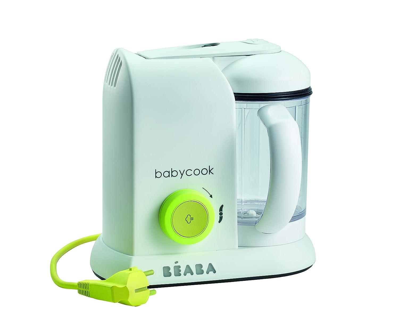 B/éaba neon Babynahrung Portionsbeh/älter aus Silikon 6x90ml